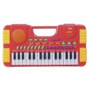 Teclado Piano Musical Infantil A Pilha Grava - Importway