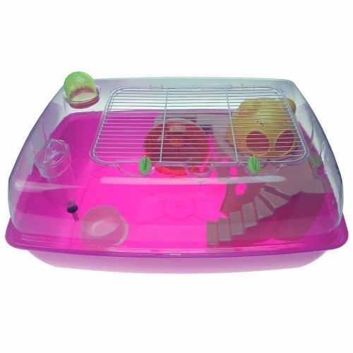 Gaiola Hamster Premium Acrílico