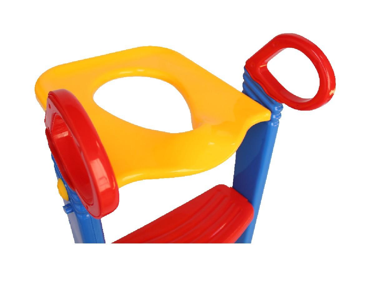 Assento Redutor Infantil Com Escada Vaso Sanitário Desfralde