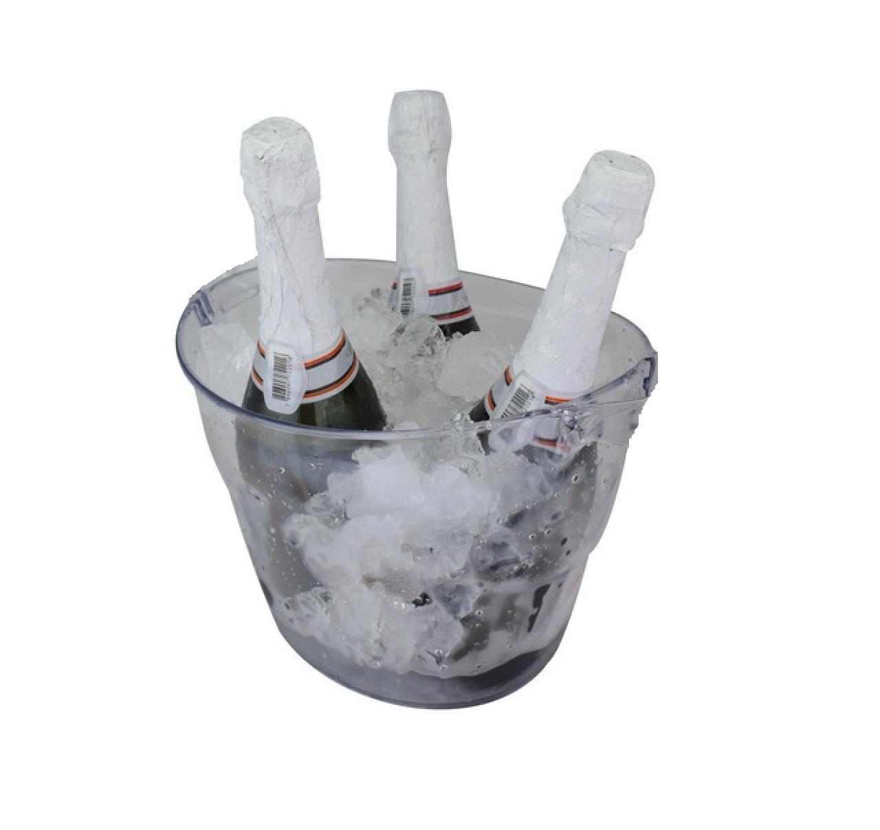 Balde De Gelo Plus P/ Bebida Cerveja Poliestireno 3,3l Uz