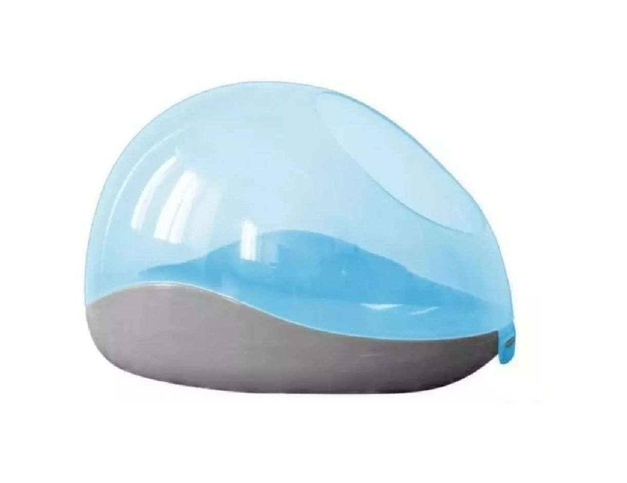 Banheiro Higiênico Para Roedores Azul - Pawise