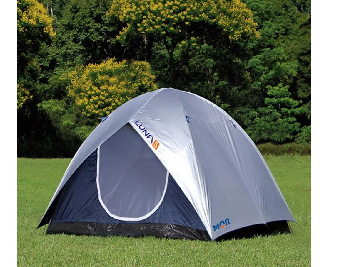 Barraca de Camping Luna Impermeável 5 Lugares - Mor
