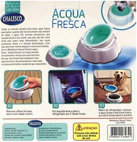 Tigela Gelada Acqua Fresca - Chalesco