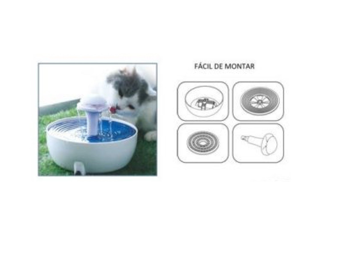 Bebedouro Fonte Automática com Filtro 110V - American Pets