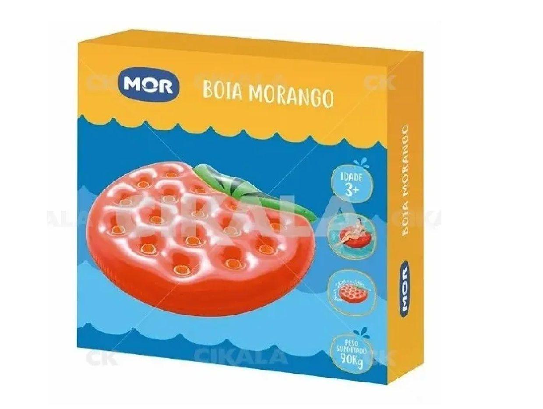 Boia Colchão Inflável Gigante Para Piscina Morango - Mor