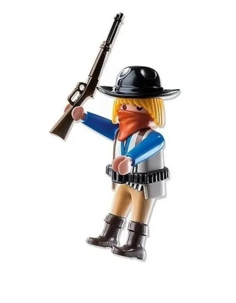 Boneco Bandido Mascarado Playmobil Playmo-friends Meninos - Sunny