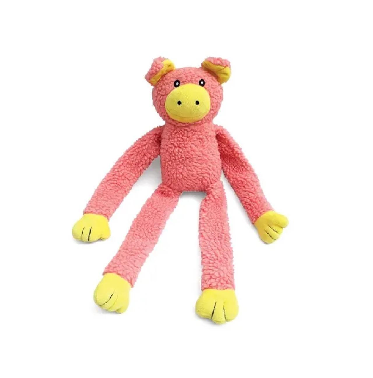 Brinquedo De Pelúcia Porco Para Cães Cachorro Chalesco