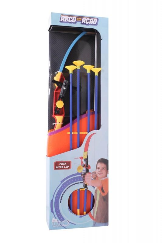 Brinquedo Lançador Arco E Flecha Infantil Com Mira De Led - Belfix