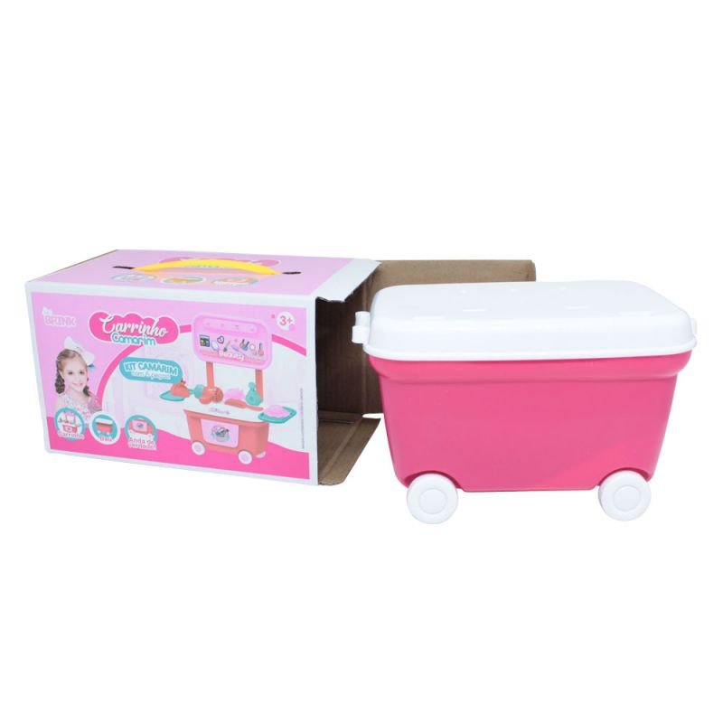 Brinquedo Mini Kit Carrinho Camarim Penteadeira - Bel Brink
