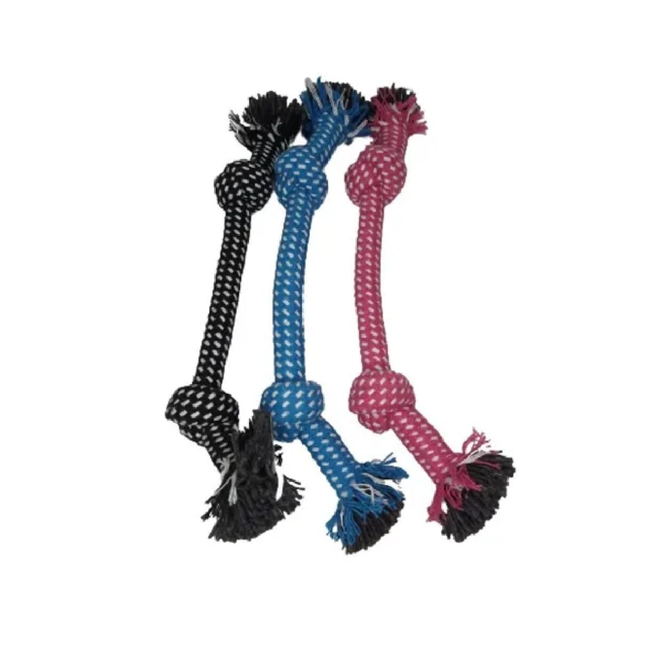 Brinquedo Mordedor Para Cães Cachorro Rope Nó - Chalesco