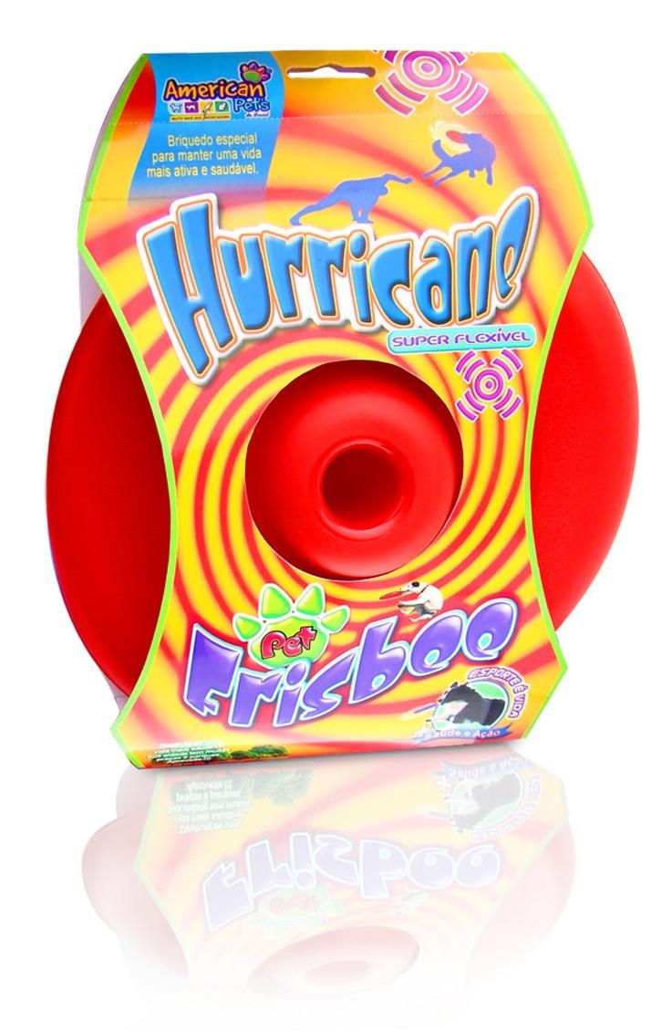 Brinquedo Para Cães Cachorro Frisbee Hurricane Pvc Flexivel