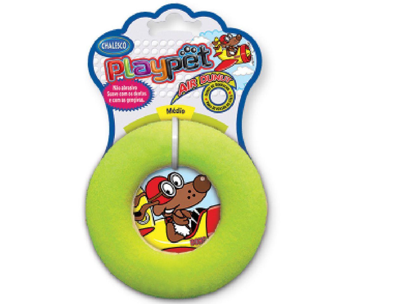 Brinquedo Para Cães Disco Air Donut Playpet - Chalesco
