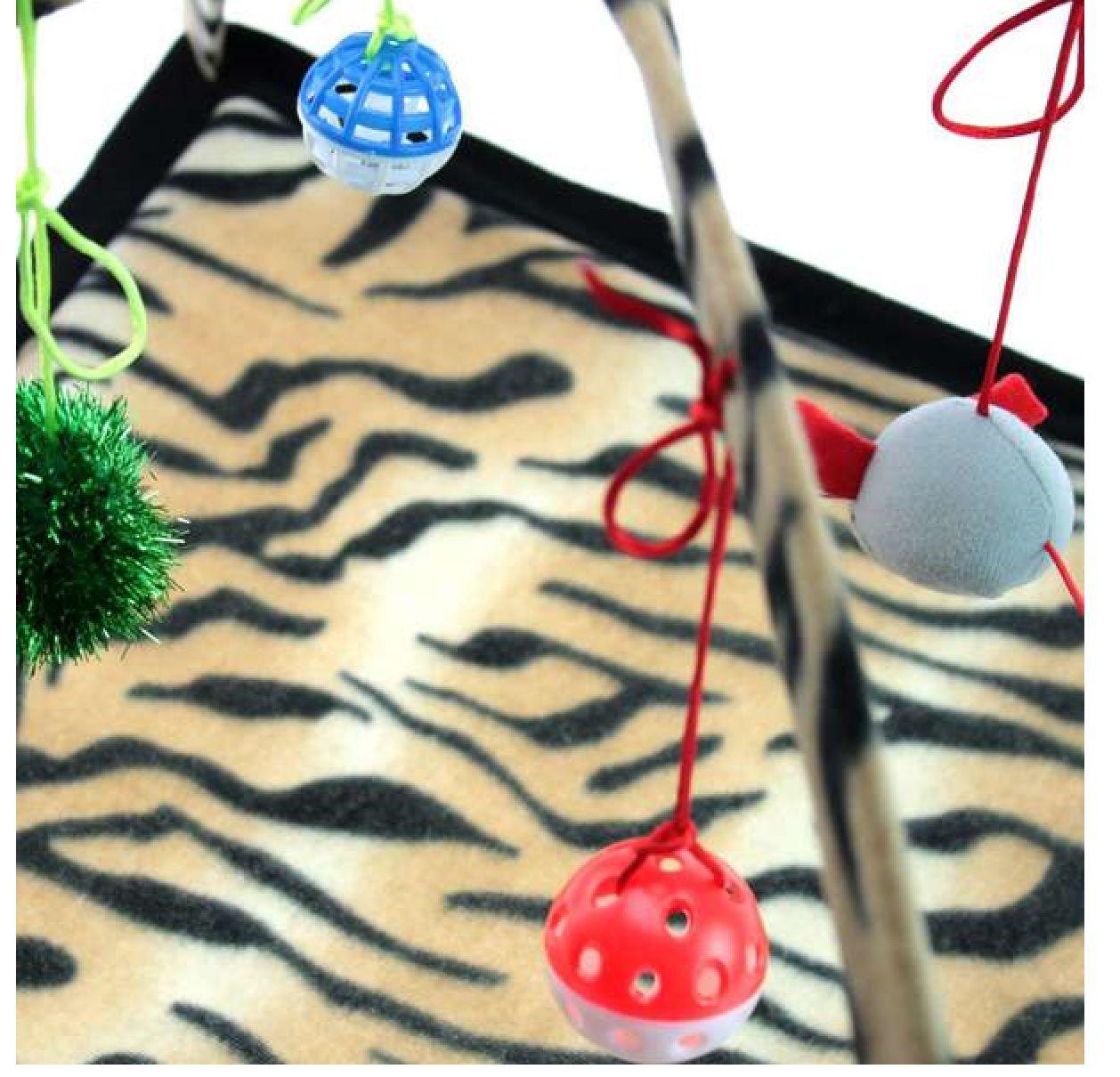 Brinquedo Tenda Para Gato - Onça - Chalesco