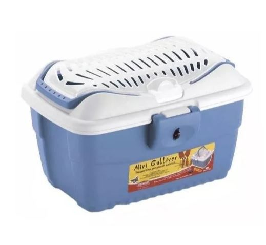 Caixa Transporte Mini Gulliver American Pets - Azul