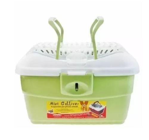 Caixa Transporte Mini Gulliver American Pets - Verde