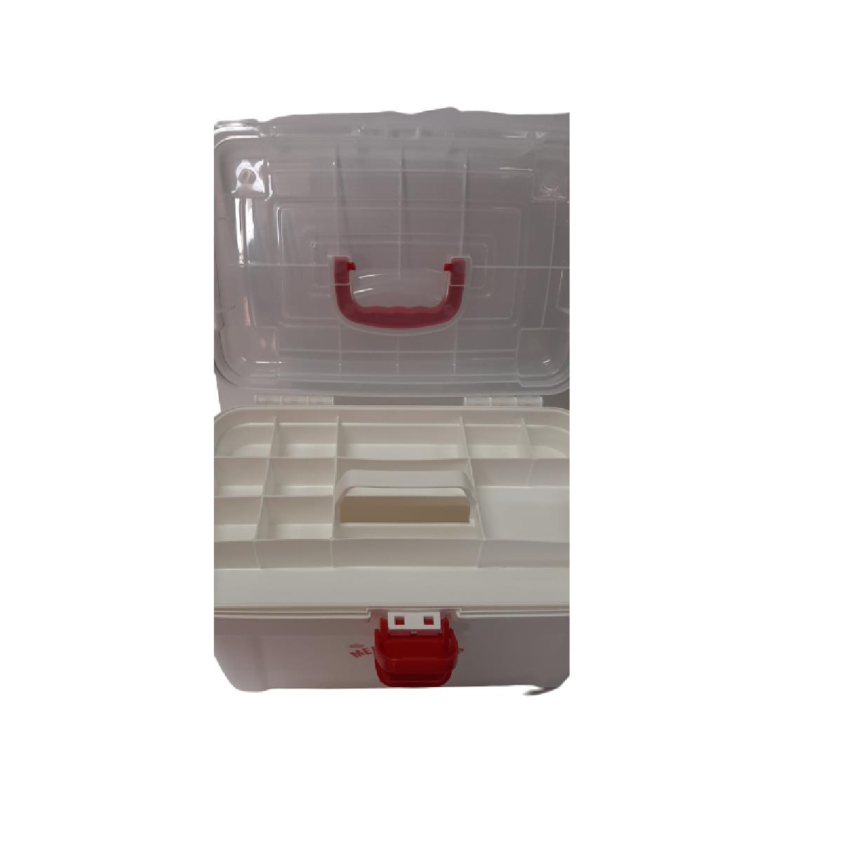 Caixa Medicamento Mega Luxo Frasqueira Grande C/bandeja - Nitron