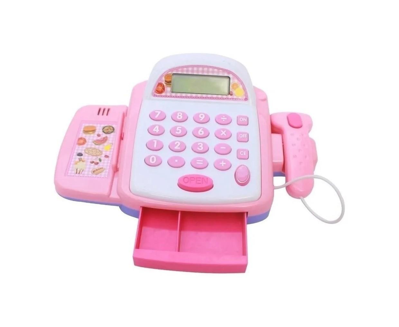 Caixa Registradora Infantil com Calculadora Mercadinho Luz E Som