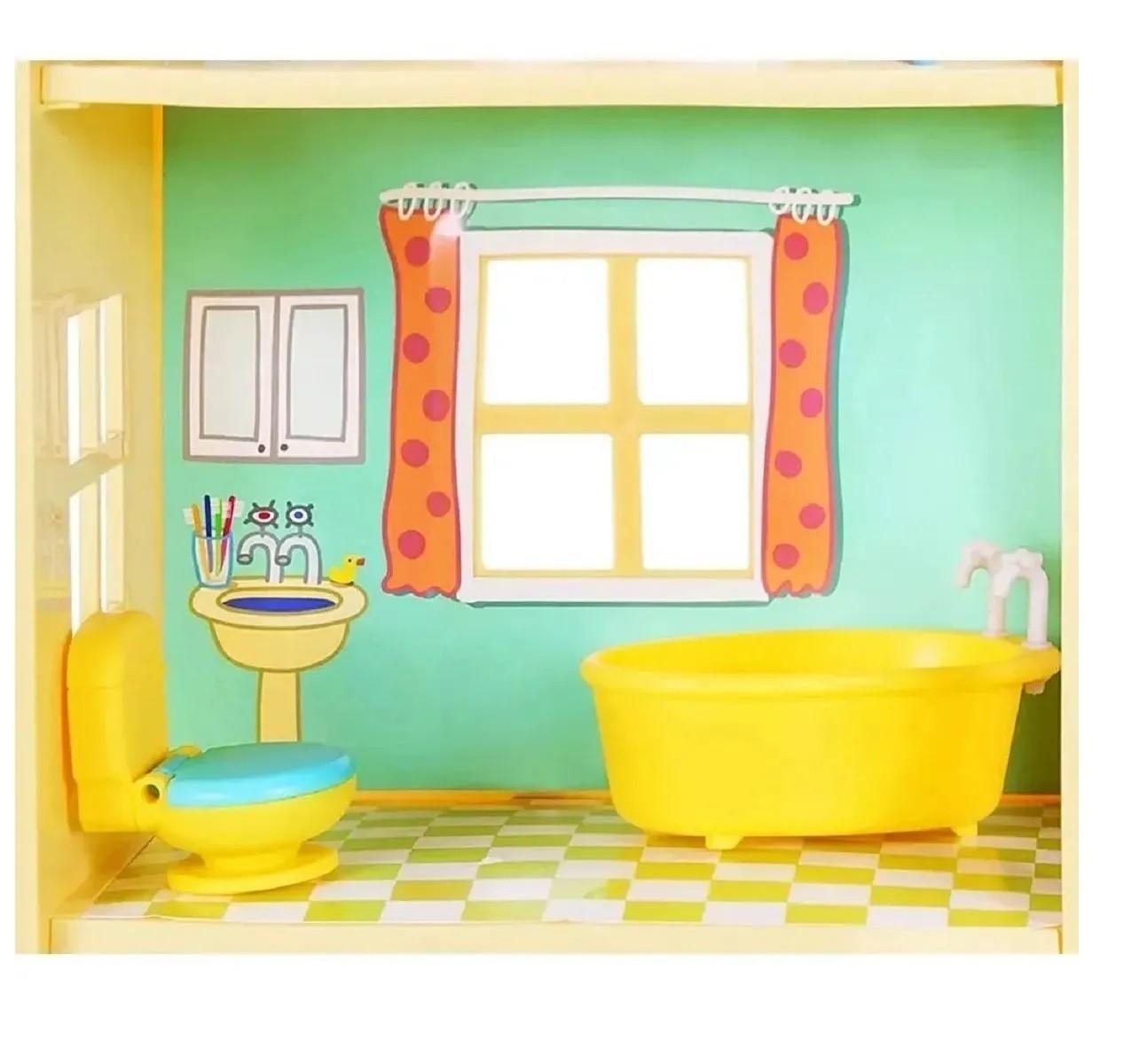 Casa Gigante Da Peppa Pig George 7 Ambientes Original Sunny