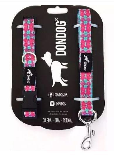 Coleira e Guia Don Dog - Hula Hula