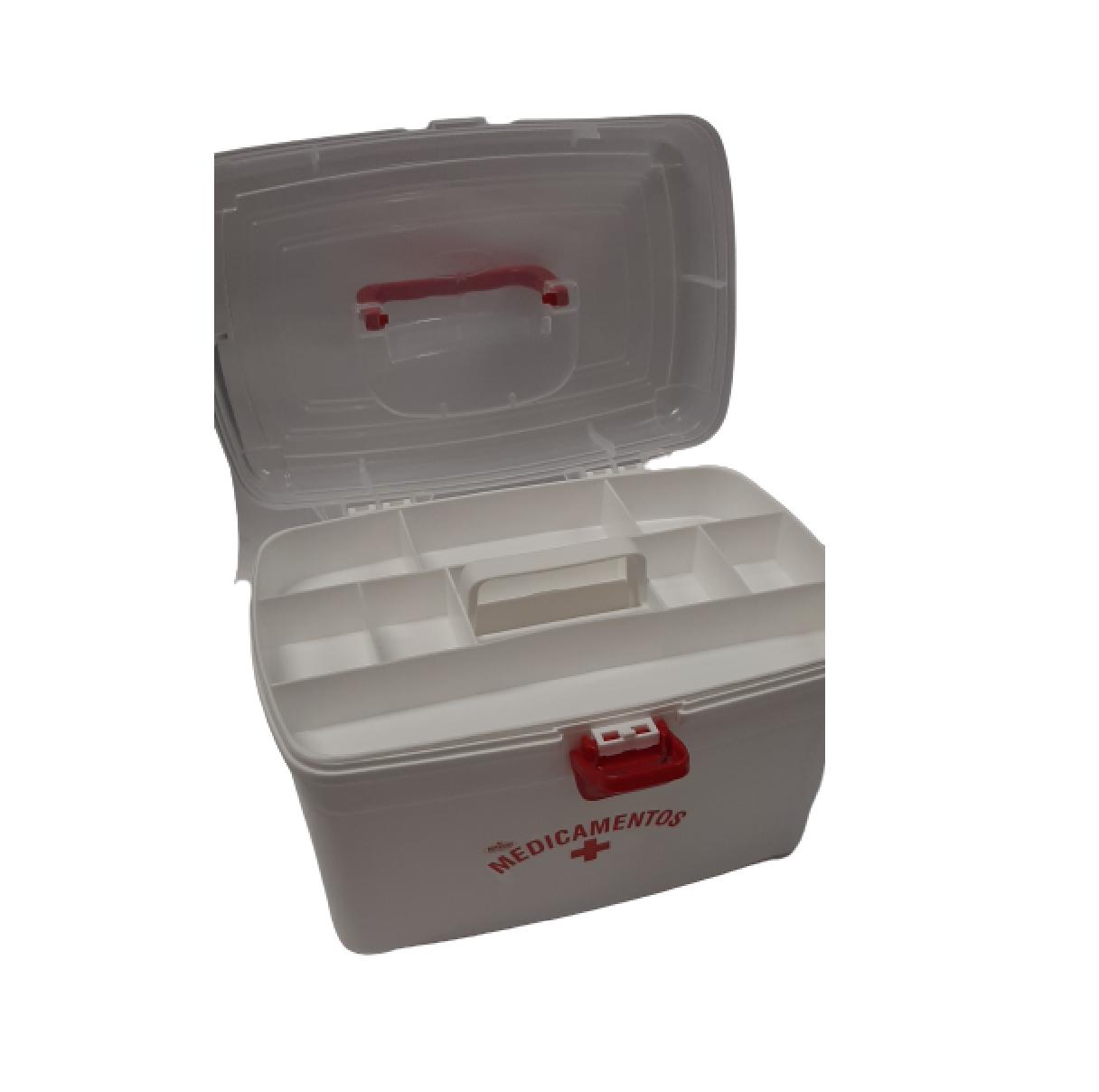 Frasqueira para Remédios Medicamentos Tamanho G - 10,4 Litros - NITRON