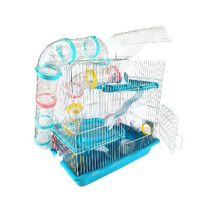 Gaiola Hamster Labirinto Safari Gigante - Azul
