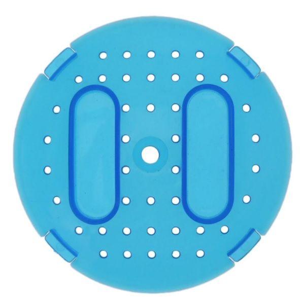 Globo de Plástico para Exercícios 18cm - Azul