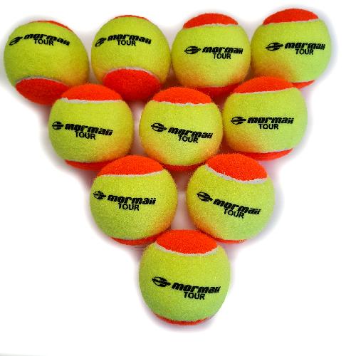 Kit 10 Bolinhas Bola Beach Tennis Mormaii Profissional