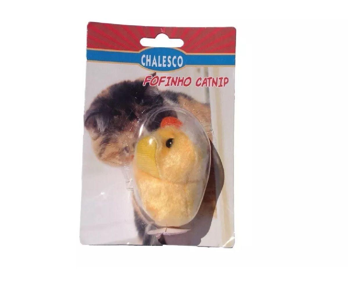 Kit 3 Brinquedos Fofinho Catnip Para Gatos - Chalesco