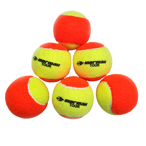 Kit C/6 Bolinhas Bola Beach Tennis Mormaii Profissional