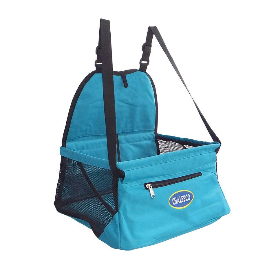 Kit Cadeirinha de Carro Car Seat Azul+ Eliminador de Pelos Tam. P