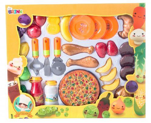 Kit de Comidinhas e Pizza Grande - Bel Brink