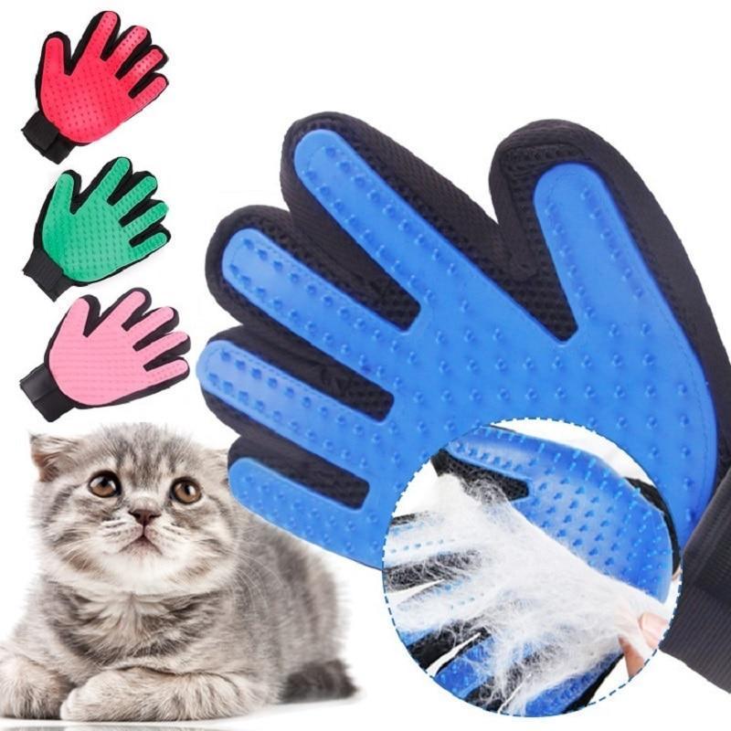 Luva Tira Pêlos Clean Glove Rosa - Chalesco