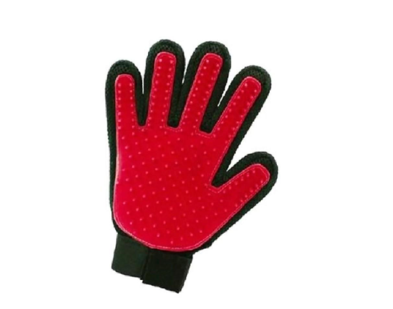Luva Tira Pêlos Clean Glove Vermelha - Chalesco