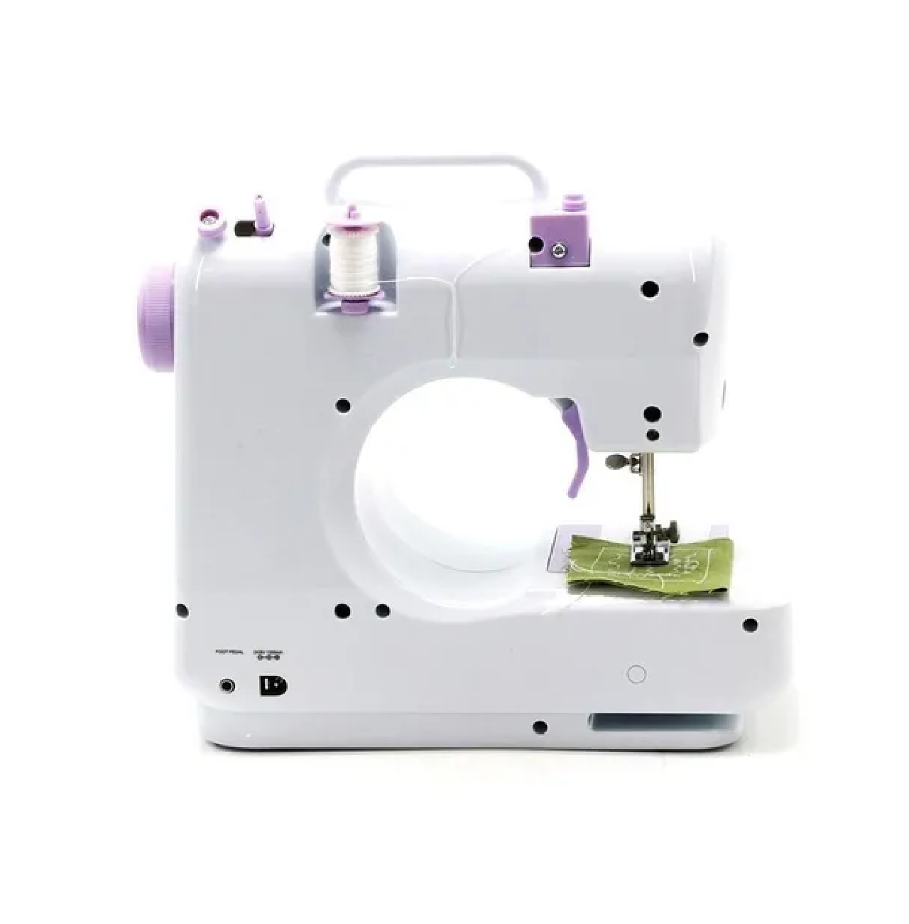 Máquina De Costura Multifuncional Portátil Com Costura e Agulha - Importway