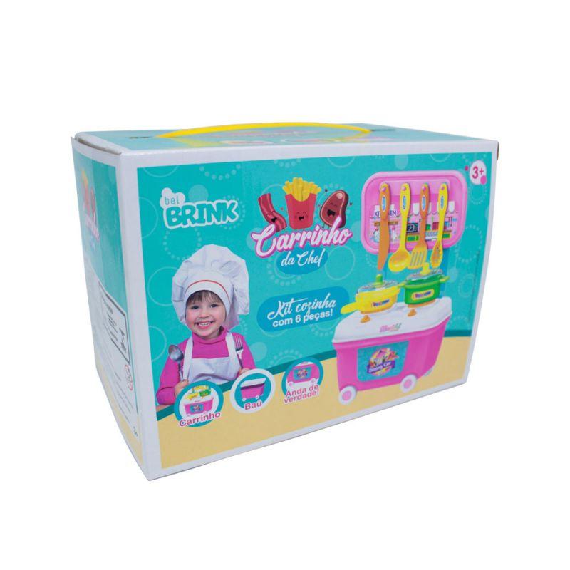 Mini Kit Infantil Carrinho da Chef - Bel Brink
