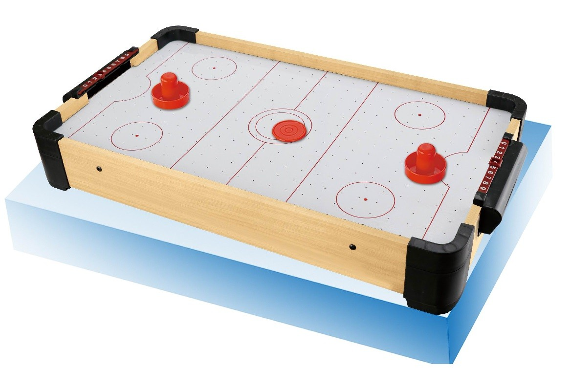 Mini Mesa De Air Hockey Aero Game Portátil 50x30cx8,5cm