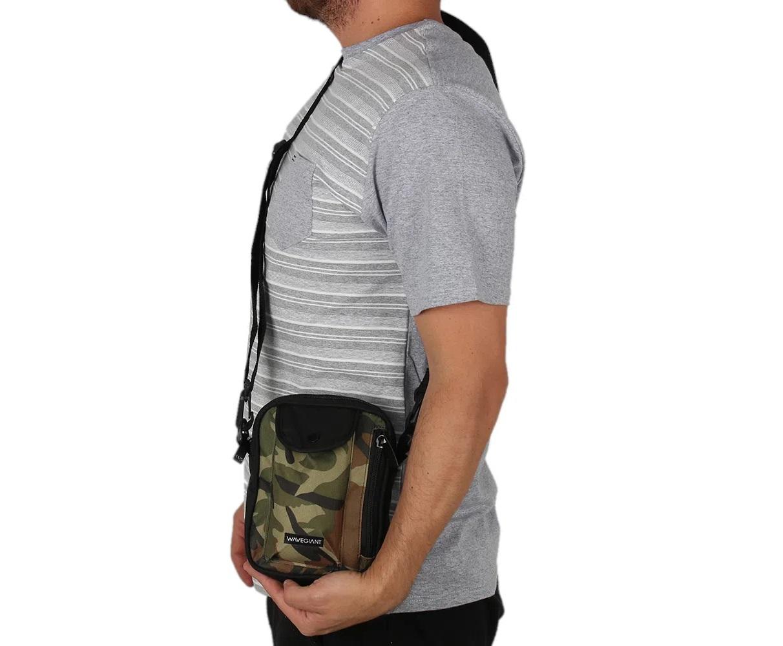 Mini Shoulder Bag Pochete Square Headquarter Camuflada Wg