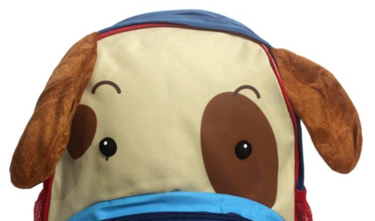 Mochila Infantil Escolar Zoo Clio Pets Original - Cachorro