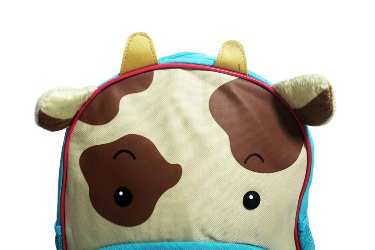Mochila Infantil Escolar Zoo Clio Pets Original - Vaca