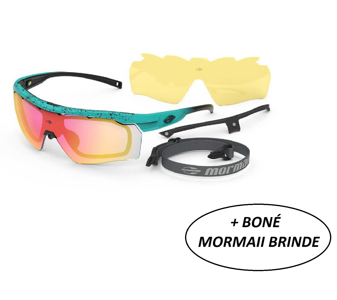 Óculos Sol Esportivo Lente Grau Mormaii Smash 2 Beach Tennis