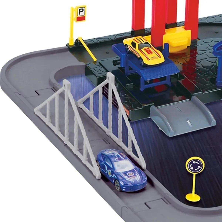 Pista Estacionamento Infantil Elevador Posto Lava Rápido - Importway