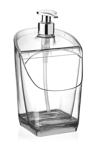 Porta Detergente Esponja Sabão Liquido Plástico Uz