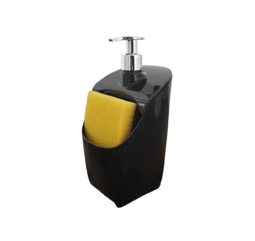 Porta Detergente E Esponja Suporte Plástico 500ml Uz