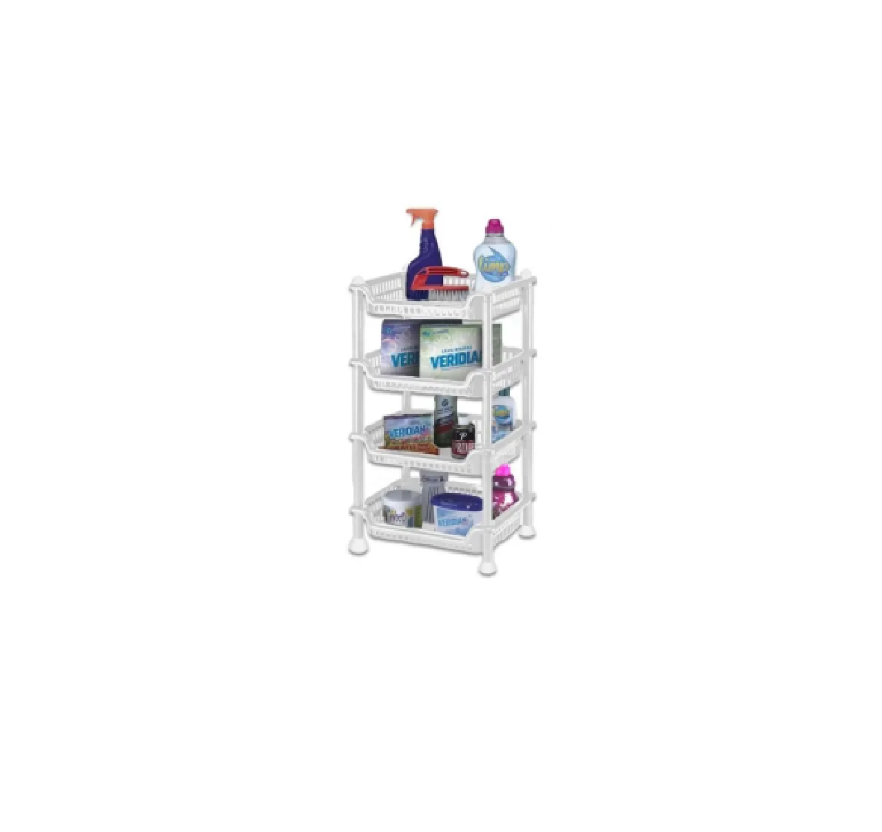 Prateleira Organizador Multiuso Desmontável 4 Andares - NITRON