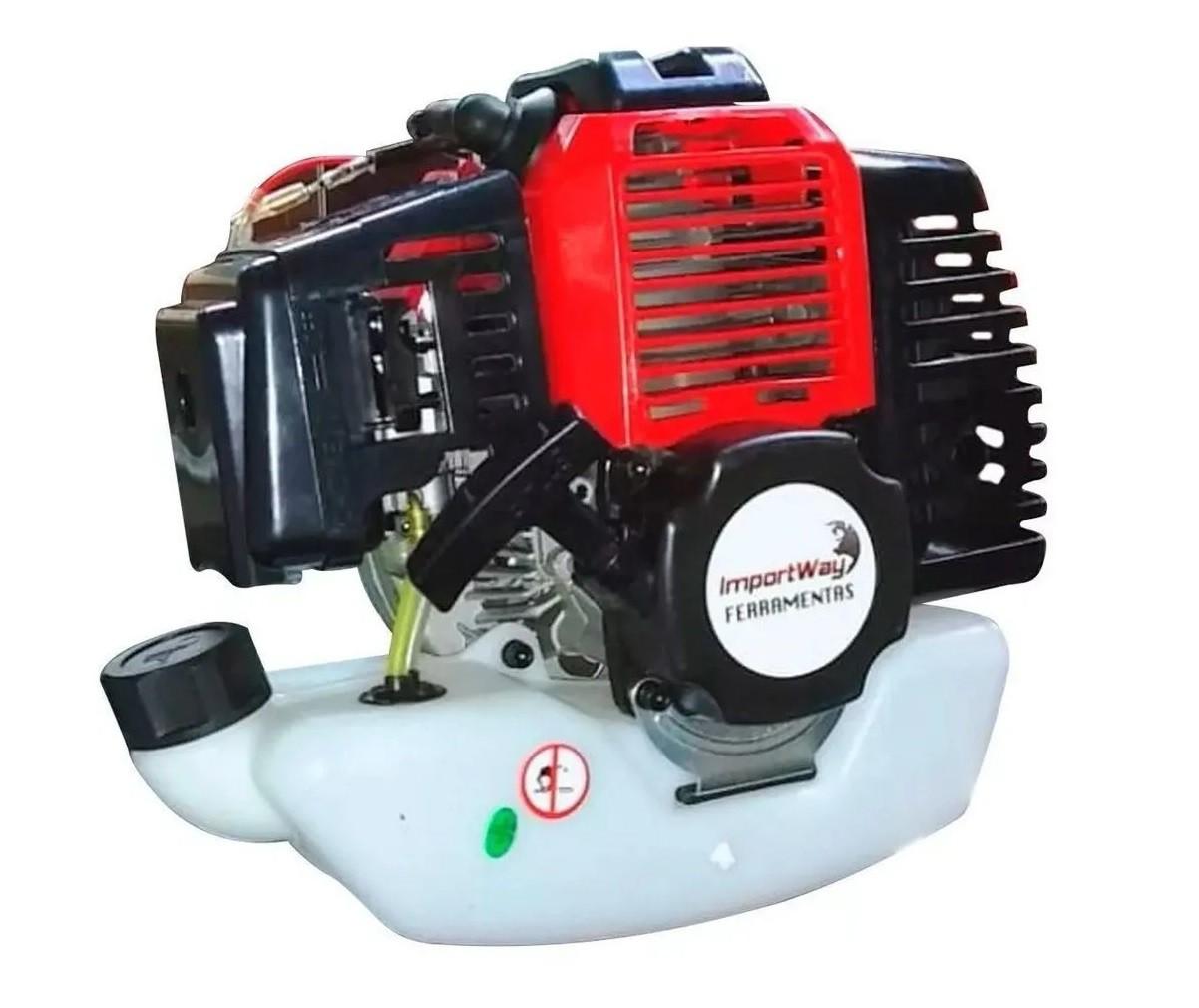 Roçadeira Bipartida À Gasolina Profissional 58cc - Importway