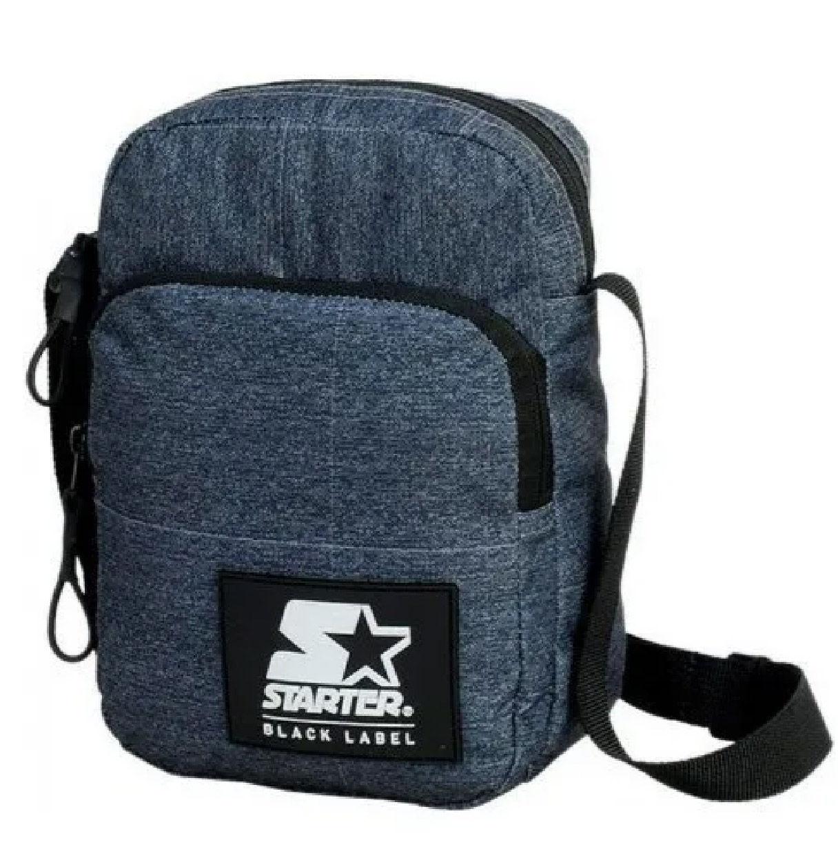 Shoulder Bag Black Label Starter Bolsa Lateral Original Mochila Transversal Passeio