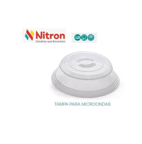 Tampa P/ Microondas Proteção De Alimentos Livre Bpa Nitron