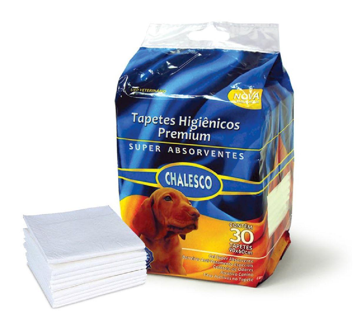Tapete Higiênico para Cães 30 Unidades - Chalesco