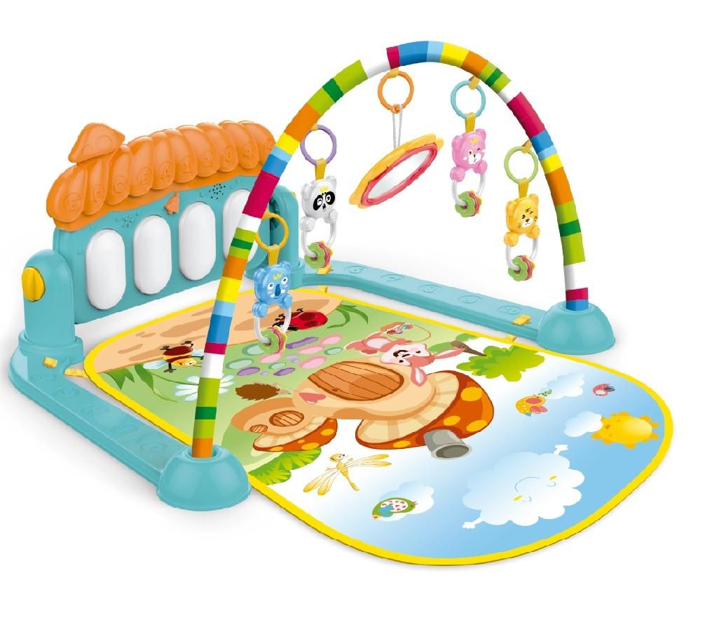 Tapete Infantil Bebê Divertido Musical com Móbile e Piano - Importway