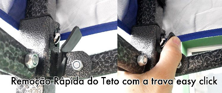 Tenda Gazebo Articulado 3 x3m - Chalesco